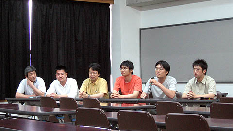 OIA勉強会のパネルディスカッション