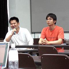 さくらインターネットの田中さんと、シーポイントの大川さん